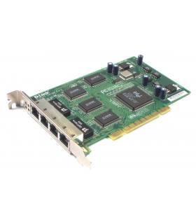 KARTA LAN-4PORT D-LINK DFE-580TX 4-PORT PCI Bus HIGH