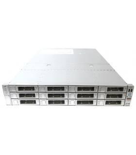 """SUN X4-2L 2X6C E5-2630 V2 2,60GHZ 32GB 12X3,5"""" SAS9261-8i 512MB+BAT + 7014391 SAS EXPANDER 2X1000W"""