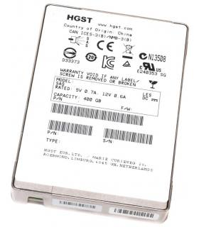 "HGST/EMC 400GB 2,5"" SSD SAS HUSMM1640ASS200 118000220-01"