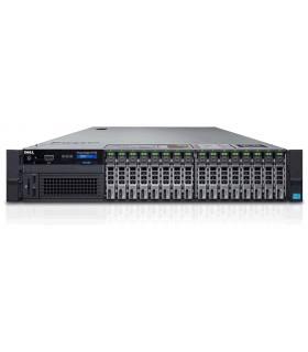 "DELL R730 2X10C E5-2650 V3 2,30GHz 128GB 16X2,5"" H730 MINI 2X750W iDRAC8ENT SZYNY"