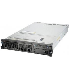 "IBM X3650 M4 2X10C E5-2690 V2 3,00 GHz 64GB 8X2,5"" 2X600GB 15K M5110E IMM2 2X750W SZYNY"