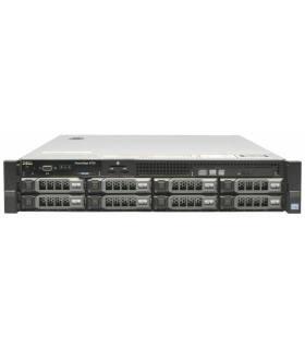 """DELL R720 2X10C E5-2680 V2 2.80 GHz 128GB 2X400GB SSD SAS + 4X4TB 7,2K 8X3,5"""" H710 MINI 2X750W iDRAC7ENT 0R1XFC SZYNY"""
