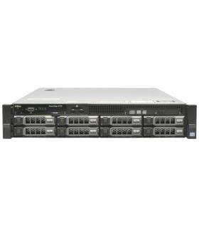 "DELL R720 2X10C E5-2680 V2 2.80 GHz 128GB 2X600GB 15K 6X4TB 7,2K 8X3,5"" H710 MINI 2X750W iDRAC7ENT 0R1XFC"