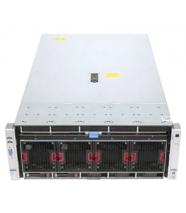 "HP DL580 G8 4X15C E7-4880 V2 2,50 GHz 64GB 10X2,5"" P830i 2GB ILO4 2X1500W 560FLR SFP+"