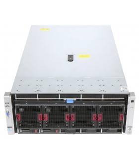 """HP DL580 G8 4X15C E7-4880 V2 2,50 GHz 128GB 2X200GB SSD SAS 10X2,5"""" P830i 2GB ILO4 2X1500W 560FLR SFP+"""
