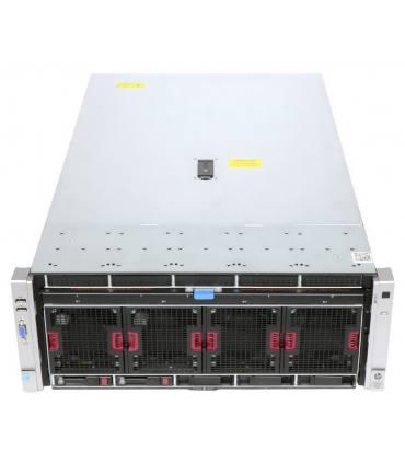 """HP DL580 G8 4X15C E7-4880 V2 2,50 GHz 1TB RAM 2X200GB SSD SAS 10X2,5"""" P830i 2GB ILO4 4X1200W 560FLR SFP+ SZYNY"""